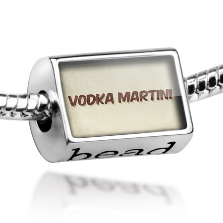 Bead Vodka Martini Cocktail, Vintage style Charm Fits All European - Simple Halloween Cocktails With Vodka