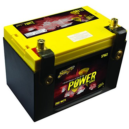 Stinger SPV69C 1100 AMP Power Series Dry Cell Battery w/ Protective Steel (Best Dry Cell Battery)