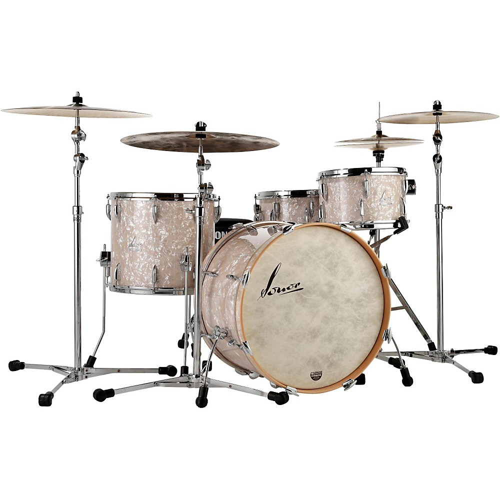 Sonor Vintage Series 3-Piece Shell Pack Vintage Pearl