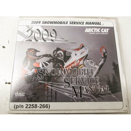 Car Service Manual - Arctic Cat 2258-266 2009 Snowmobile Service Manual CD QTY 1