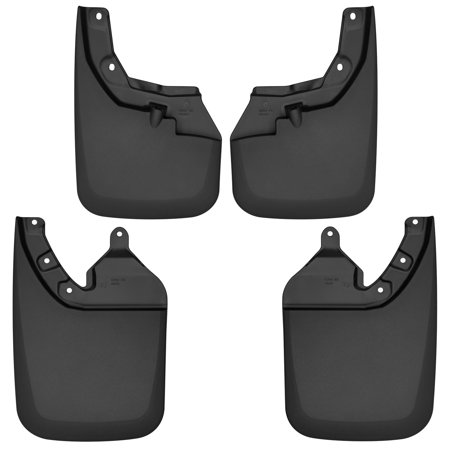 Husky Liners Front & Rear Mud Guards Fits 18-18 Tacoma w/ OE Flares