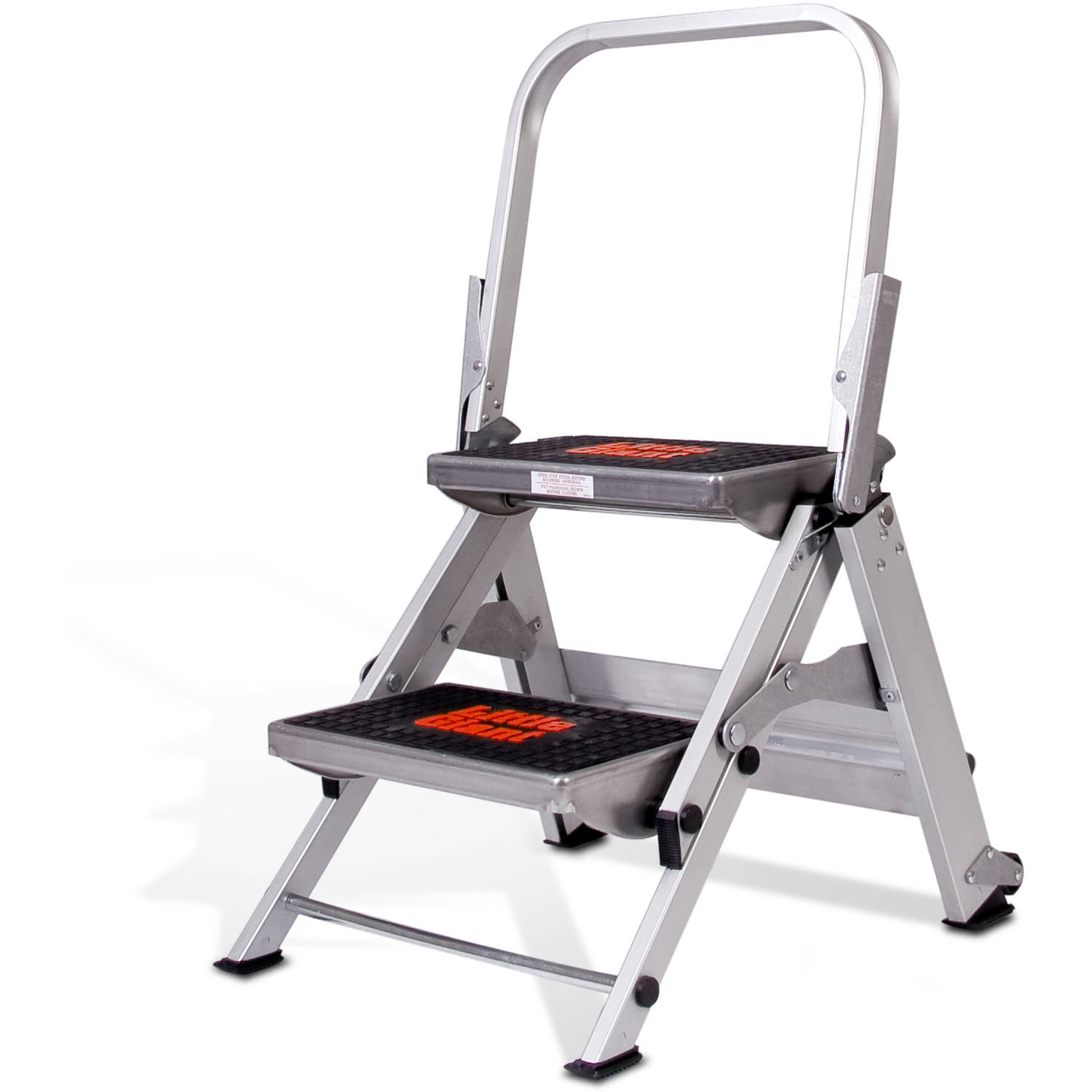Little Giant 2 Step Safety Step Ladder Walmart