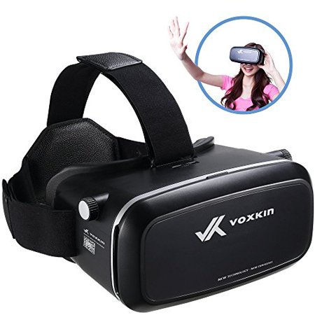 2020e6cadcf0 Virtual Reality Headset 3D VR Glasses by Voxkin - High Definition Optical  Lens