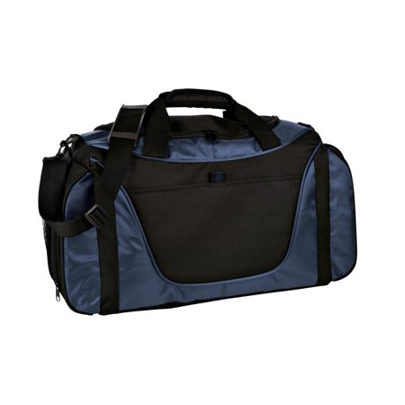 Port Authority® Two-Tone Medium Duffel. Bg1050 Navy/ Black Osfa - image 1 of 1