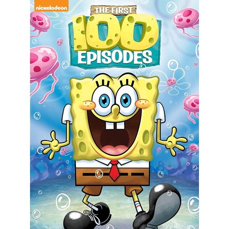 Refurbished Nickelodeon SpongeBob SquarePants First 100 Episodes (DVD) - Disney Channel Halloween Episodes