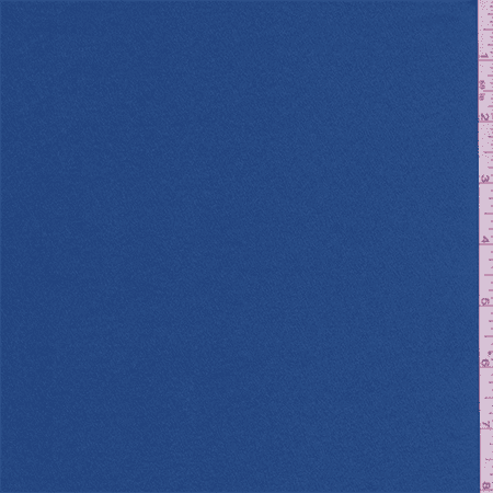 Starlight Blue Crepe Back Satin, Fabric Sold By the Yard Yard Crepe Back Satin