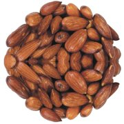 Roasted Unsalted Almonds 20 - 22 Per Ounce, (6.25 Pounds)