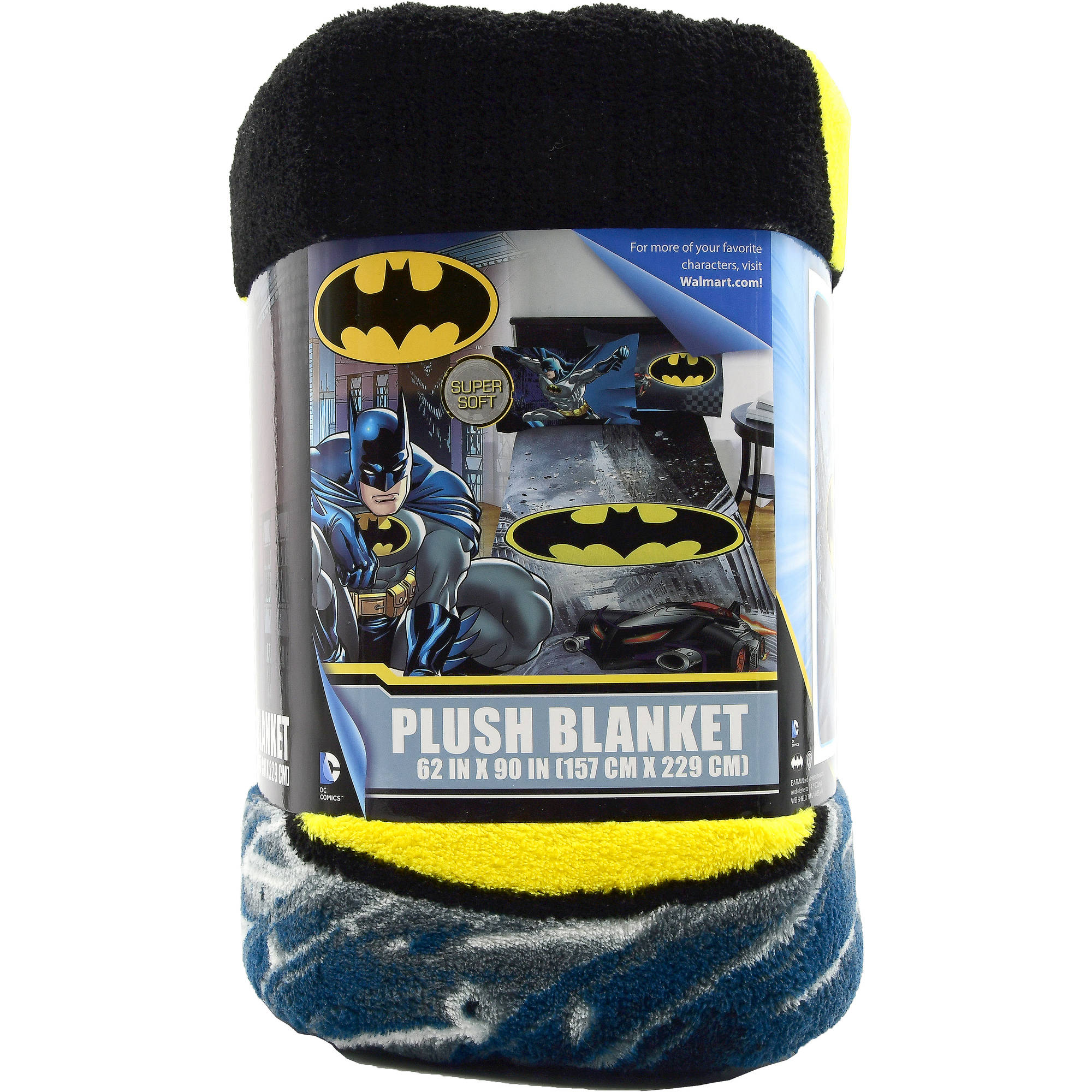 Dc Comics Batman Plush Blanket 62 Quot X 90 Quot Full Size Kids