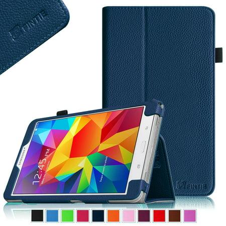 Fintie-Samsung-Galaxy-Tab-4-7-0-Case-Slim-Fit-Premium-Vegan-Leather-Folio-Stand-Cover-Navy