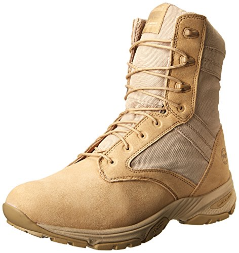 Timberland PRO Men's 8 Inch Valor Soft Toe Tan Duty Boot,Desert Tan With Textile,15 M US by Timberland PRO
