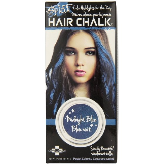 Splat Hair Chalk Midnight Blue 35g Walmart