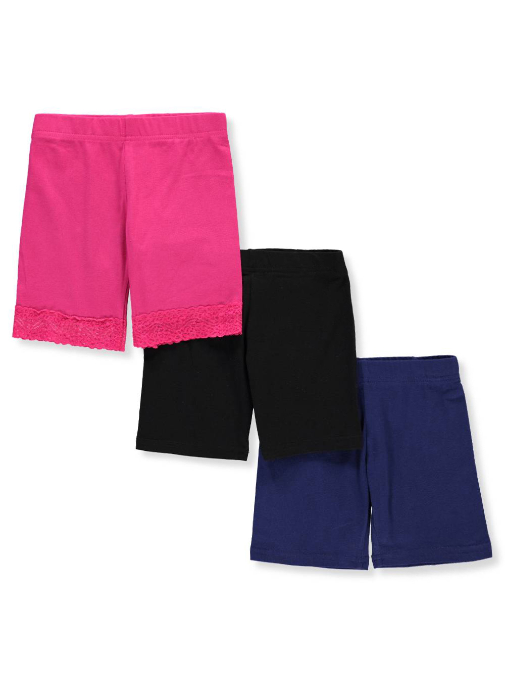 Girls' 3-Pack Bike Shorts by Marilyn Taylor