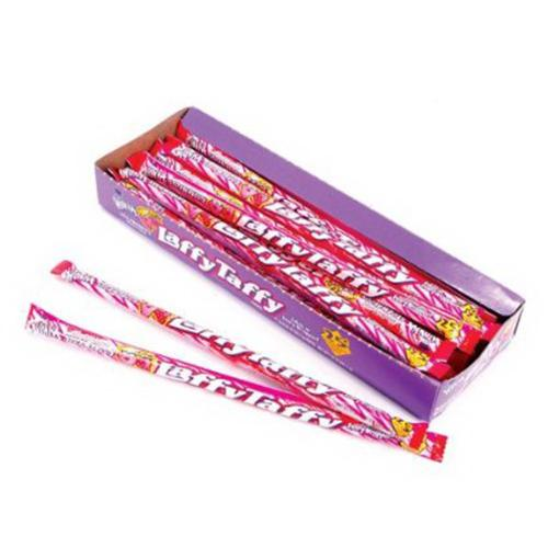 Nestle Laffy Taffy Strawberry Flavor Ropes - 0.81 Oz, 24/Box
