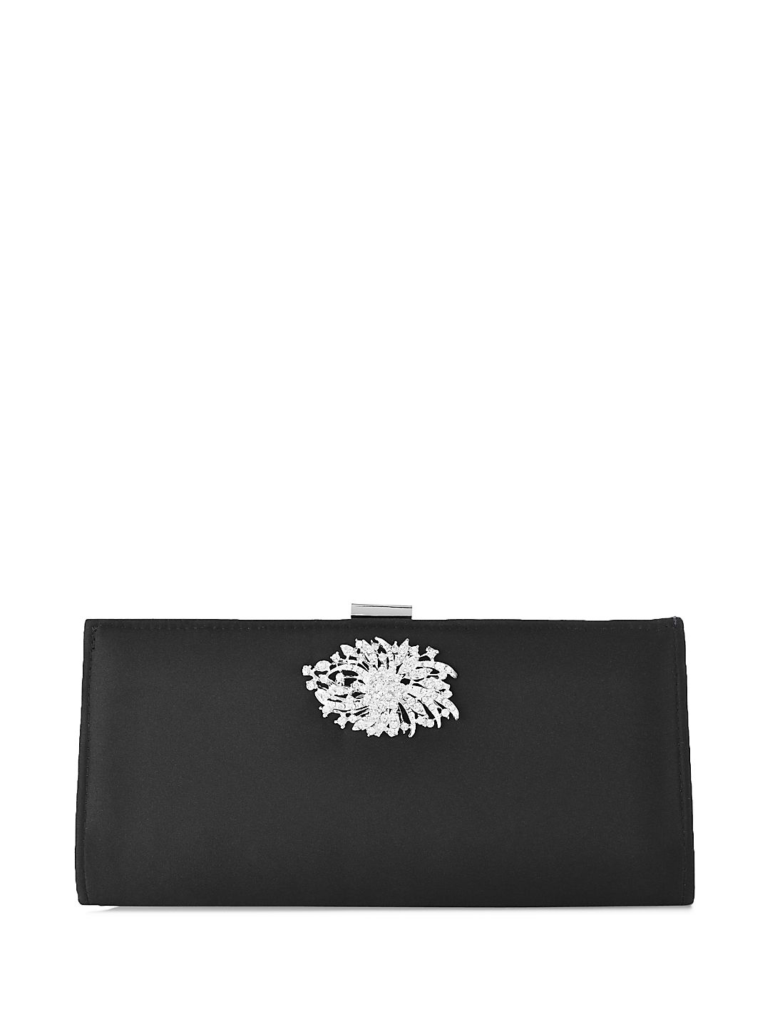 Stacee Covered Frame Clutch