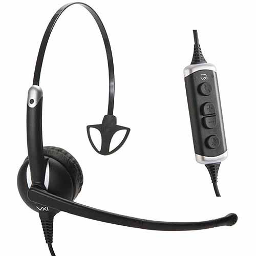 VXi Envoy UC 3010U Monaural Stereo Headset with Microphone