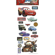 "Disney Cars Paper Craft 5.5"" x 12 Sticker - Clear"
