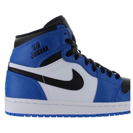 Mens Air Jordan 1 Retro High Rare Air Soar Blue Black White 332550-400 -  Walmart.com 674d3ce223e4