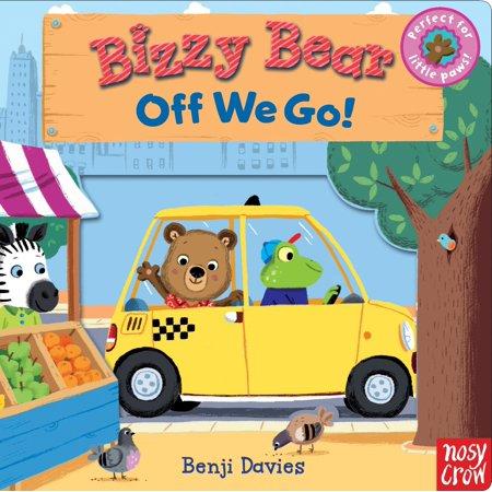 Bizzy Bear: Off We Go! (Board Book) (Off Board)