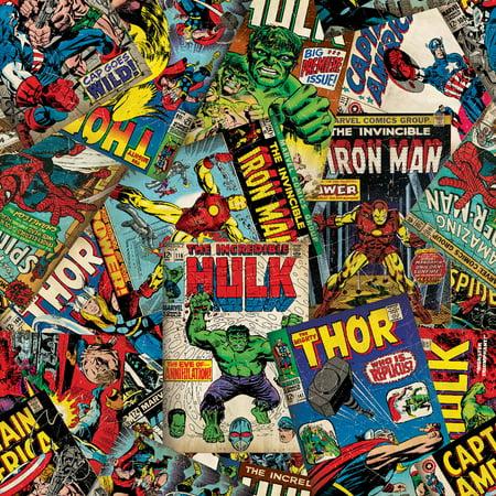 Marvel Comic Fury Cover Art Fleece Red 59 60 Quot Width