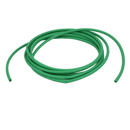 long 5m ID 6.4mm Isolation Tube thermorét Polyoléfine Enveloppe Vert - image 2 de 2