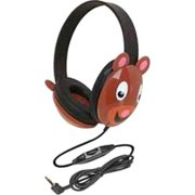 Califone Kids Stereo PC Headphone Bear Design