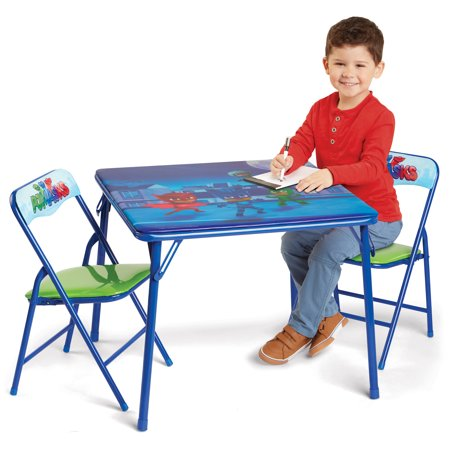 PJ Masks Activity Table with 2 Chairs