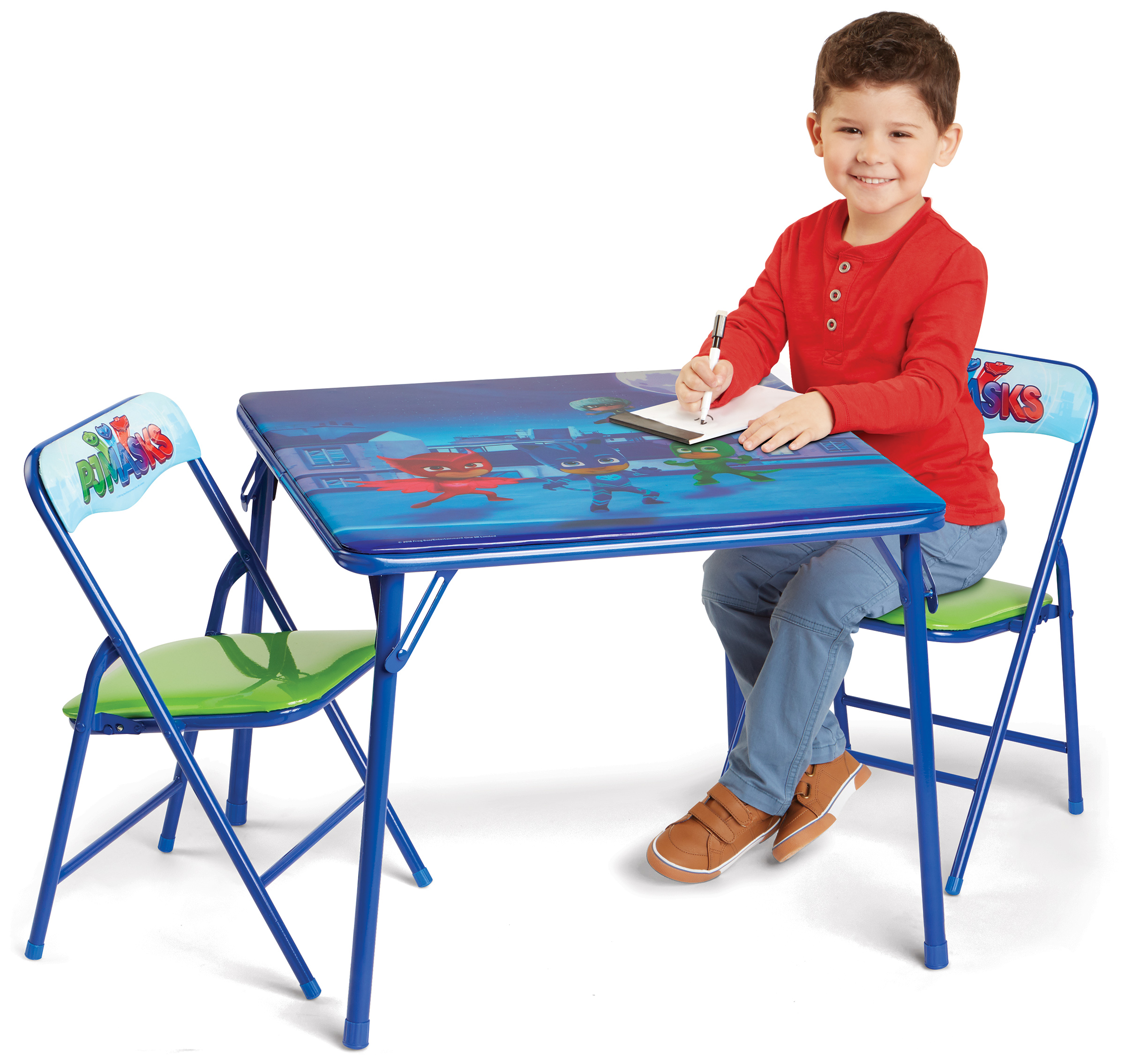 PJ Masks Erasable Activity Table