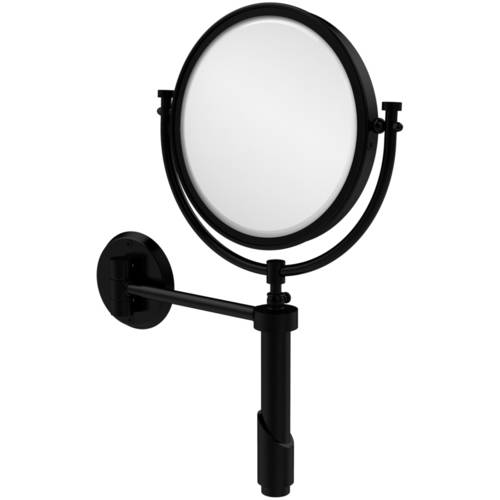 "Tribecca Collection Wall-Mounted Make-Up Mirror, 8"" Diameter with 3x Magnification (Build to Order)"