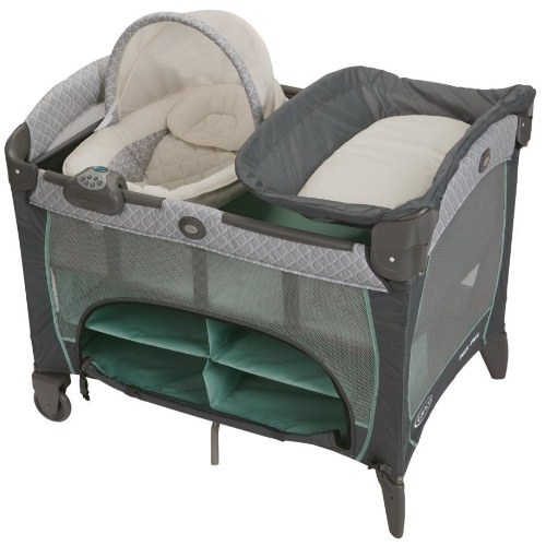 Pack 'N Play Play Pen with Newborn DLX Manor by Graco