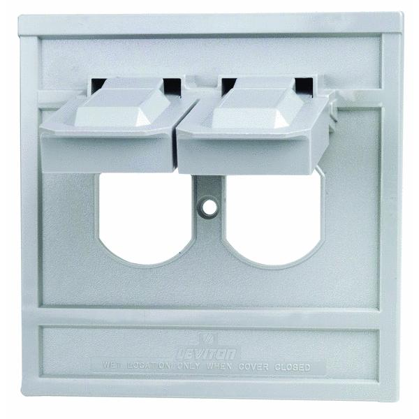 Leviton Commercial Grade Weatherproof Outdoor Outlet Cover