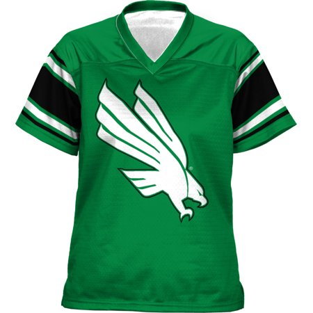 North Texas Football - ProSphere Girls' University of North Texas End Zone Football Fan Jersey