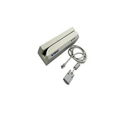 Low Coercivity Mag Stripe - Uniform Industrial MSR206U-3HLR Uniform Industrial Magnetic Stripe Encoder, Triple Tracks, High and Low Coercivity, Rohs