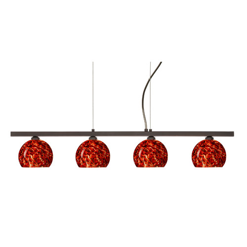 Besa Lighting Palla 4 Light Linear Pendant