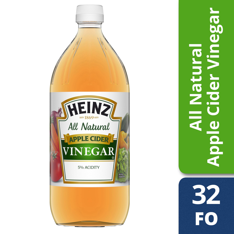 Heinz All Natural Apple Cider Vinegar 32 fl. oz. Bottle - Walmart.com