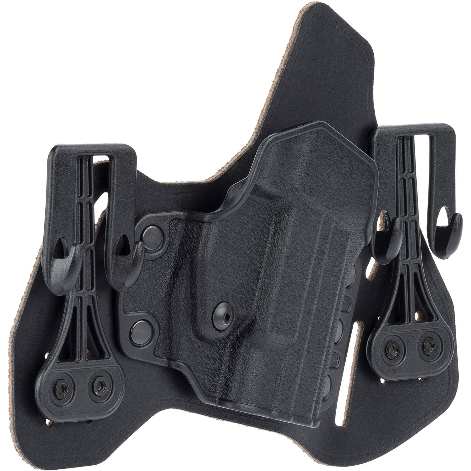 BLACKHAWK! Leather Tuckable Pancake Holster, Black