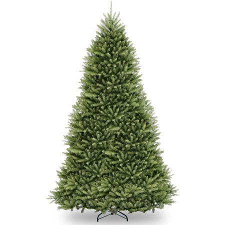 National Tree Unlit 12' Dunhill Fir Hinged Artificial Christmas Tree