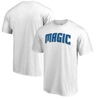 Orlando Magic Fanatics Branded Primary Wordmark T-Shirt - White
