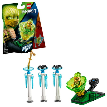 LEGO Ninjago Spinjitzu Slam - Lloyd 70681 Ninja Building Kit (70 Pieces) (Ninja Spinjitzu)