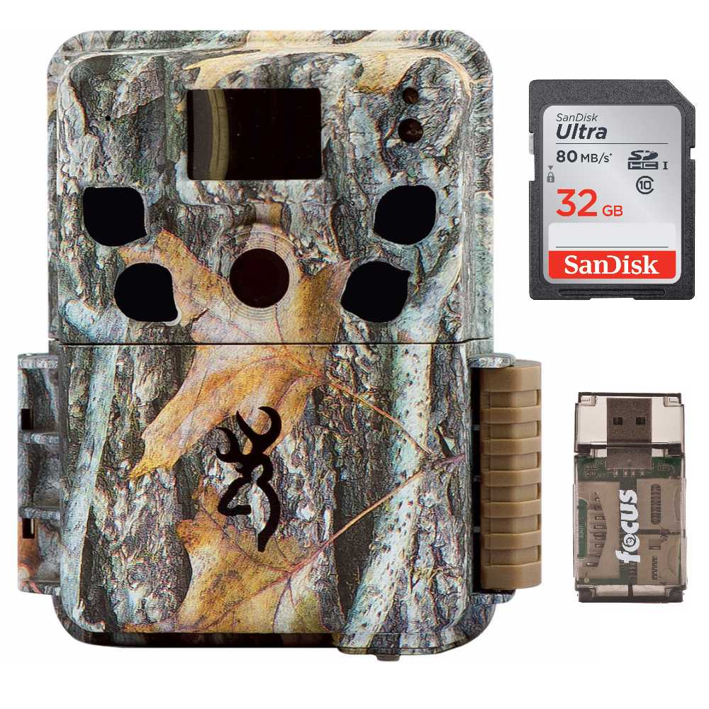 Browning Trail Cameras Dark Ops Pro with 32GB Card and Card Reader