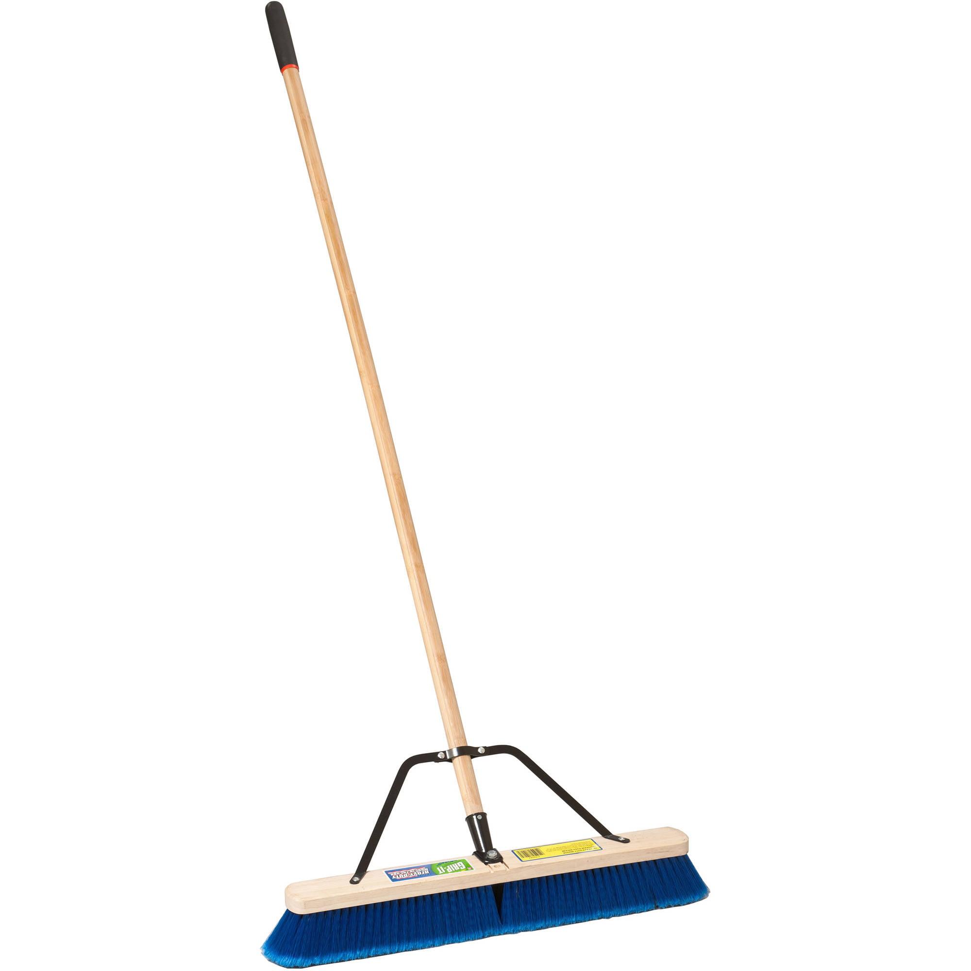 "Laitner Brush Company 1426AJ 24"" Multi Surface Push Broom by Cequent Laitner Company"