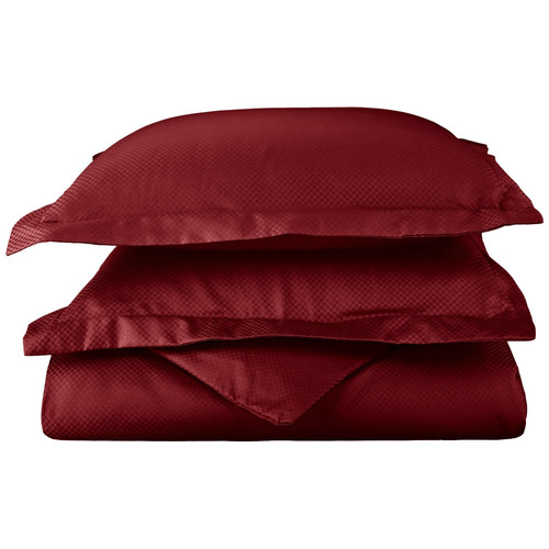 Simple Luxury Micro Check 800 Thread Count Pillowcase (Set of 2)