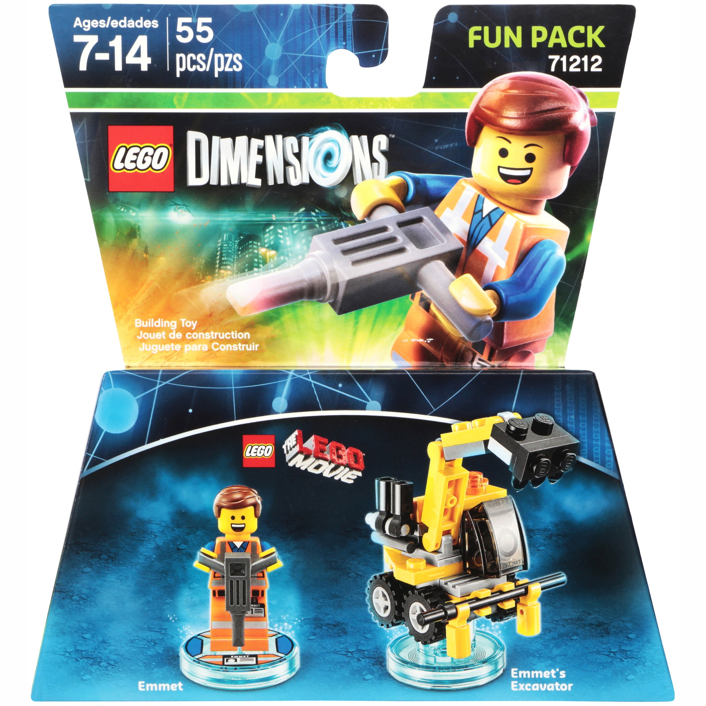 Lego® Dimensions™ Fun Pack Building Toy 55 pc Pack