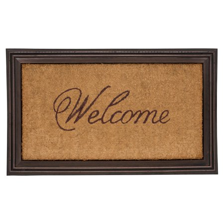 - Whitehall Products Essex Coir Welcome Door Mat