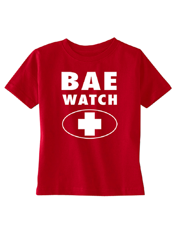 BAE Watch Funny Couple TODDLER T-shirt Souvenir