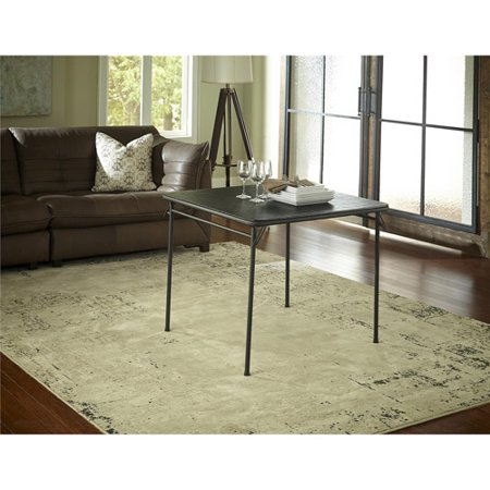 cosco 34 vinyl top folding table multiple colors. Black Bedroom Furniture Sets. Home Design Ideas