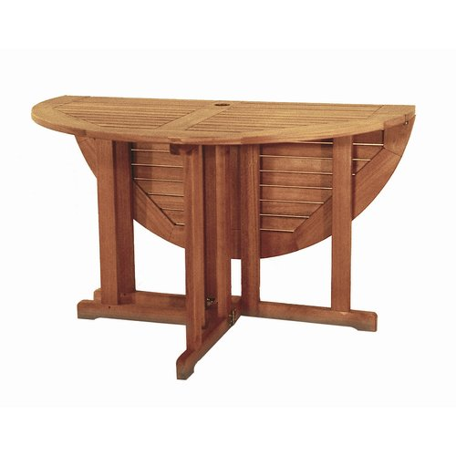Bayou Breeze Fabius Round Folding Dining Table by