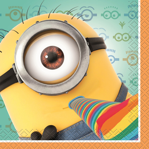 Despicable Me 2 Beverage Napkins [16 Per Pack]