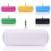 Mini USB Speaker System, Portable Plug in Phone Speaker with 3.5mm Aux Audio Input  External Speaker