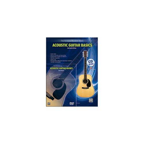 Alfred Ultimate Beginner Mega Pak Acoustic Guitar Basics (Rev. Ed.) Book, CD & DVD by Alfred