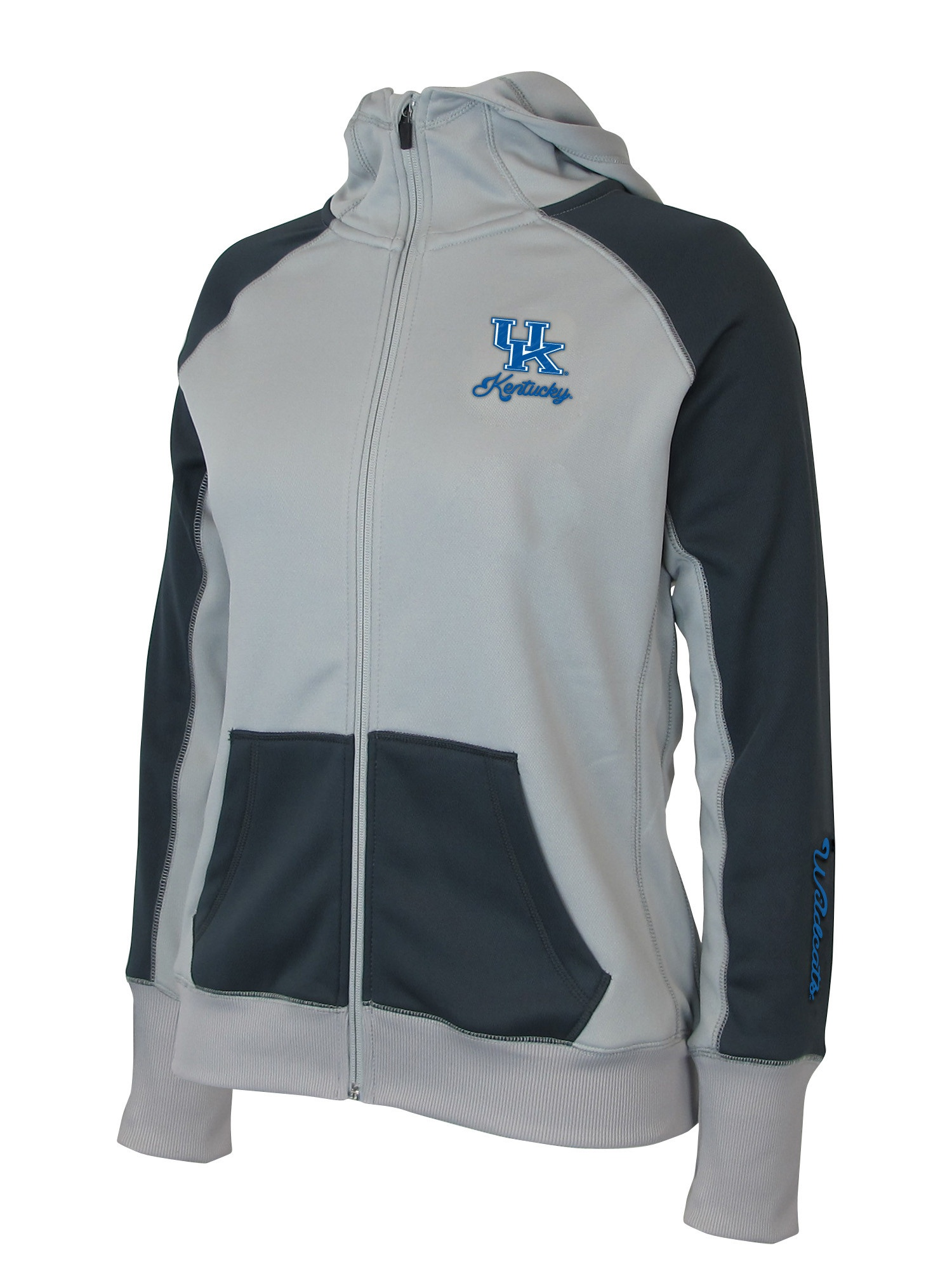 "Kentucky Wildcats Women's NCAA ""Nordic"" Full Zip Hooded Jacket by Colosseum"